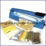 Venta de la máquina del lacre de impulso de la mano del sellador del calor de la bolsa de plástico/de la máquina del lacre de la bolsa de plástico