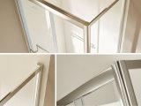 Perfil de alumínio 304 S/S acessórios de banho de chuveiro simples de vidro