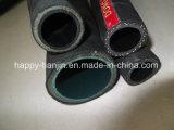 Manguito de gasolina y aceite de la salida de materia textil de la trenza de alta presión de la tela