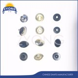 Mode bouton Monocolor métallique individuelle pour la veste Snap