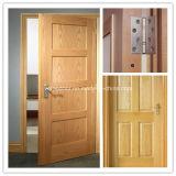 Porte solide de modèle en bois solide de bois de construction classique neuf de porte avec la qualité