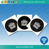 인쇄된 13.56MHz Mf S50 1k RFID 스티커