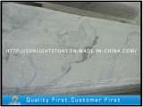 지면 포장을%s 자연적인 Polished Viscont 백색 화강암 또는 대리석 돌 마루 도와