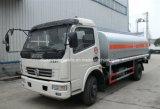 Dongfeng cisterna de combustible de 4X2 1200 y 1350 galones de petróleo Bowser carretilla