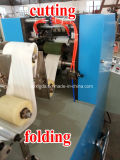 Cadena de producción automática completa de máquina del bolsillo del papel del pañuelo
