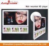 """21.5''+10,1"""" TFT LCD passager d'affichage écran LCD de l'élévateur de la publicité Media Player Lecteur vidéo multimédia de réseau WiFi Full HD LED de couleur la signalisation numérique"""