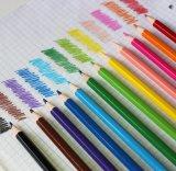 Haute qualité de 12 crayons de couleur dans la case de papier, crayons de couleur Box Set