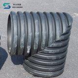 Double-Wall Corrugated труба HDPE с обыкновенным толком концом