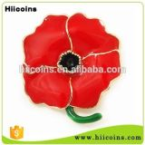 Отворот цветка Китая Wholesa значка отворотом мака сразу продавать фабрики и цветок отворотом