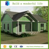 Villa en aluminium en acier légère préfabriquée Philippines de Chambre de structure
