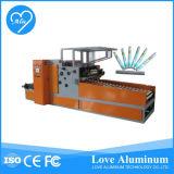 Máquina automática de alta velocidade da folha de alumínio do rebobinamento que faz a máquina