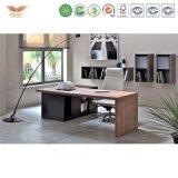 引出しのL字型オフィス表管理CEOの机の事務机のオフィス用家具が付いているマネージャの机