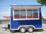 Concessão móvel exterior personalizadas Carrinho de venda de café