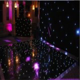 Tuile noire de danse de l'étage de danse DEL pour la décoration de mariage