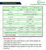 Vertikaler Luft-Fluss-sauberer Tischplattenprüftisch mit Edelstahl (VD-650)