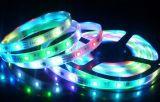 5050SMD 60 LED de 12V/M de tira flexible RGB IP65