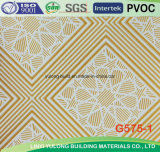 Цветастая плитка потолка доски гипса PVC для потолка