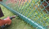 GabionボックスかGabionの六角形ワイヤー網またはバスケットまたは石のケージか石の網