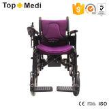 Sillón de ruedas de acero plegable de la energía eléctrica de la movilidad económica de Topmedi