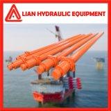 La potencia hidráulica del cilindro de émbolo hidráulico con la temperatura normal