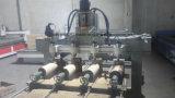 Máquina do router do CNC do Woodworking da Multi-Cabeça com giratório
