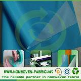 Tissu non-tissé stratifié, (PP+PE) stratifié pour le drap d'hôpital