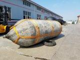 Navio de borracha que lanç a bolsa a ar marinha, balão marinho para a embarcação/barco