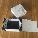 Gold Stamping Logo Customized Foldable Gift Paper Box