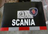 Logo personnalisé semi étanche ANTI-BOUE BAVETTES en caoutchouc du chariot