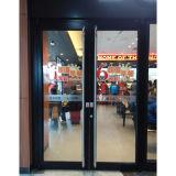 Porte en acier inoxydable revêtue en poudre couleur marron K08009