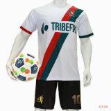 Desgaste da camisa futebol vestuário Soccer Jersey a sublimação Football Jersey os meninos escolares uniformes de futebol