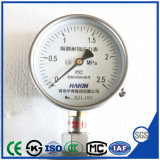 Joint de diaphragme en acier inoxydable résistant à la corrosion manomètre avec une haute qualité