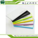 Cartão de crédito Mini-power bank portátil 2600mAh