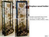 Sostenedor del nuevo diseño de la chimenea de madera