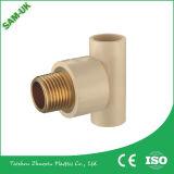 L'adaptateur hydraulique de mise au rebut le raccord de tuyauterie en cuivre en laiton