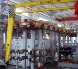 Q38/48/58overhead concatena la macchina di scoppio della sabbia del cilindro