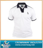 Mens promozionale Polo Shirts con Buttoned Placket (CW-PS-12)