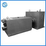 Caja de engranajes partida del tornillo doble para la máquina plástica