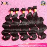 Venda Por Atacado Natural Wave Natural Color Natural Black China Body Wave Virgin Hair