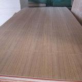 Madera contrachapada comercial de la teca para el armario y la decoración de interior