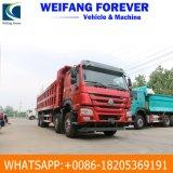 양호한 상태 유효한 주식에 있는 아프리카를 위한 최고 가격을%s 가진 사용된 HOWO 덤프 트럭 팁 주는 사람 트럭 371HP 8X4