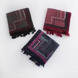 印刷される点は作るScarf (YKY1156)ビスコース絹の女性を