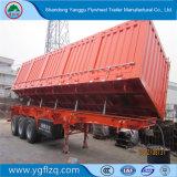 Semi Aanhangwagen van de Kipper/van de Kipwagen van de Doos van de Vrachtwagens van het Koolstofstaal de Zware zelf-Dumpt voor Zand/Steen Transportion