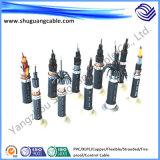 방연제 PVC Insulation와 Sheath Non-Armored Control Cable