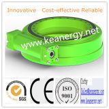 Alto engranaje de gusano de la capacidad de cargamento de ISO9001/Ce/SGS para la energía solar