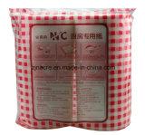 La absorción de papel de cocina no tejidos desechables