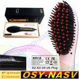Escova nova elétrica do Straightener do cabelo da estrela bonita