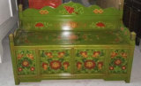 Sofá de madeira de reprodução de antiguidades chinesas