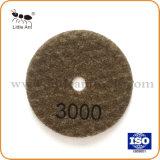 3-дюймовый 80мм Premium Diamond полировка накладки, сухой шлифовки тормозных колодок для камней полировка