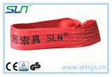 gru di sollevamento 100% della cinghia della tessitura di lunghezza di 2017 1m-100m del poliestere piano dell'imbracatura
